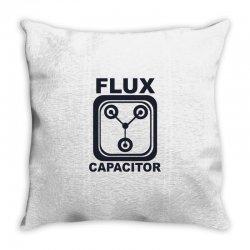 flux capacitor Throw Pillow | Artistshot