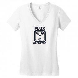 flux capacitor Women's V-Neck T-Shirt | Artistshot