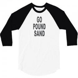 go pound sang 3/4 Sleeve Shirt   Artistshot