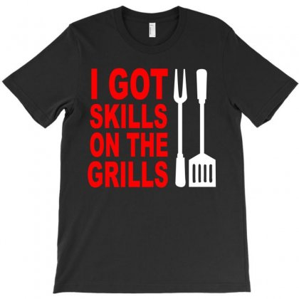 Got Skills On The Grills Apron T-shirt Designed By Suryanaagus