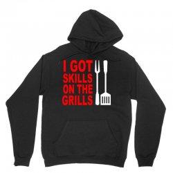 got skills on the grills apron Unisex Hoodie | Artistshot