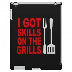 got skills on the grills apron iPad 3 and 4 Case | Artistshot