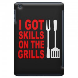 got skills on the grills apron iPad Mini Case | Artistshot