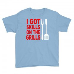 got skills on the grills apron Youth Tee | Artistshot