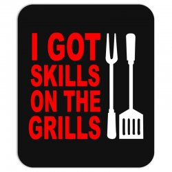 got skills on the grills apron Mousepad | Artistshot
