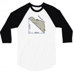 hypotenuse math humor 3/4 Sleeve Shirt | Artistshot