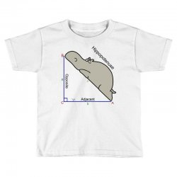 hypotenuse math humor Toddler T-shirt | Artistshot