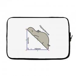 hypotenuse math humor Laptop sleeve | Artistshot
