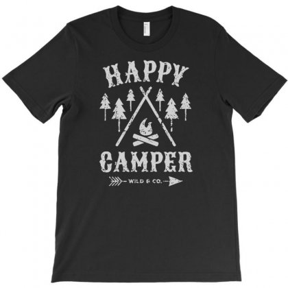 Happy Camping T-shirt Designed By Suryanaagus