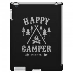 happy camping iPad 3 and 4 Case | Artistshot