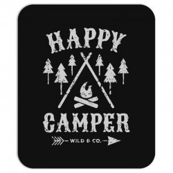 happy camping Mousepad | Artistshot