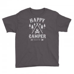 happy camping Youth Tee | Artistshot