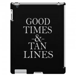 good times and tan lines iPad 3 and 4 Case | Artistshot