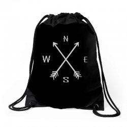 compas Drawstring Bags   Artistshot