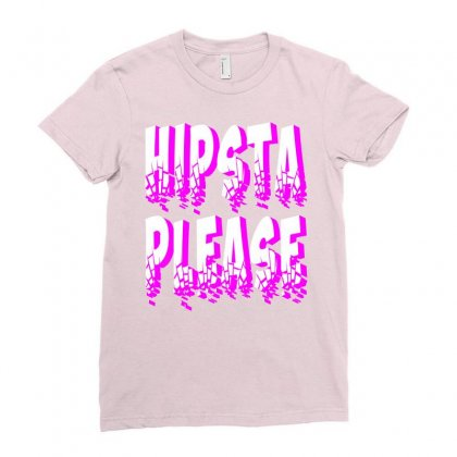 Hipsta-please-kamo Ladies Fitted T-shirt Designed By Killakam