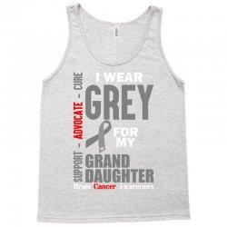 I Wear Grey For My Grand Daughter (Brain Cancer Awareness) Tank Top   Artistshot