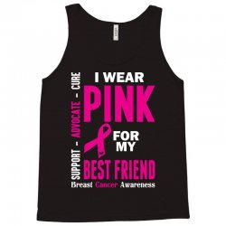 I Wear Grey For My Best Friend (Brain Cancer Awareness) Tank Top | Artistshot