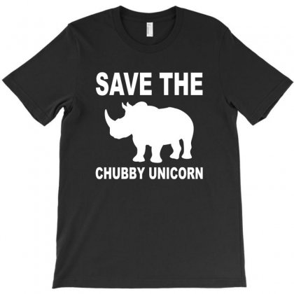 Chubby Unicorn T-shirt Designed By Megaagustina