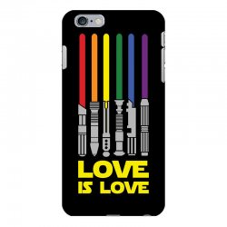 Lightsaber Rainbow - Love Is Love iPhone 6 Plus/6s Plus Case | Artistshot