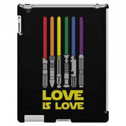 Lightsaber Rainbow - Love Is Love iPad 3 and 4 Case | Artistshot