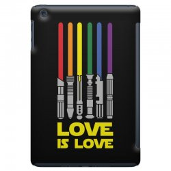 Lightsaber Rainbow - Love Is Love iPad Mini | Artistshot