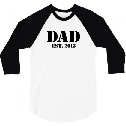 Dad 3/4 Sleeve Shirt Designed By Megaagustina