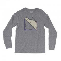 hypotenuse math humor Long Sleeve Shirts | Artistshot