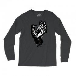 screaming hand werewolf Long Sleeve Shirts | Artistshot