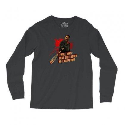 Negan Long Sleeve Shirts Designed By Vr46