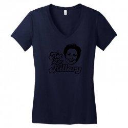 Hot For Hillary Women's V-Neck T-Shirt | Artistshot