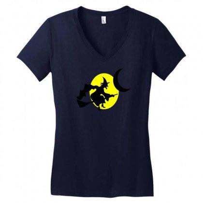 Halloween Madlibs Women's V-neck T-shirt Designed By Nanoe