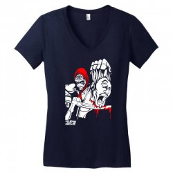 Red Murder Women's V-Neck T-Shirt | Artistshot