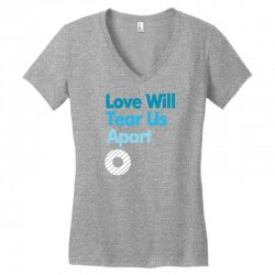 Love Will Never Tear Us Apart Women's V-Neck T-Shirt | Artistshot