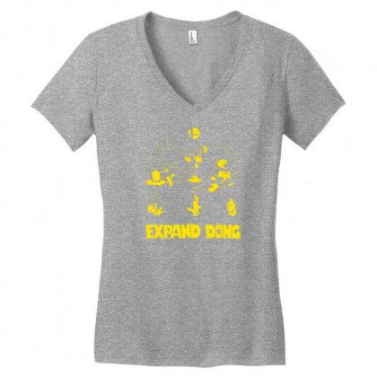 Expand Dong Women's V-neck T-shirt Designed By Specstore