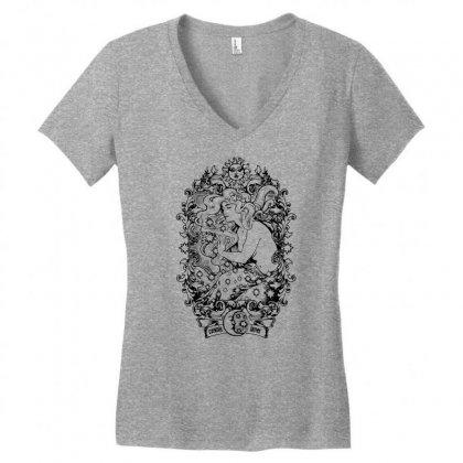 Cosmic Lover Women's V-neck T-shirt Designed By Specstore