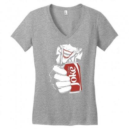 The Killing Joke Women's V-neck T-shirt Designed By Specstore
