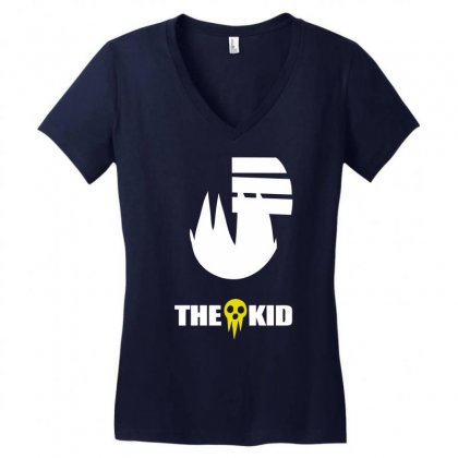 The Kid Women's V-neck T-shirt Designed By Specstore