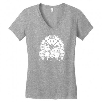 The Gentlemen Clock Tower Women's V-neck T-shirt Designed By Specstore