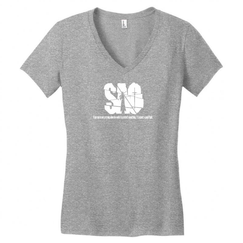 Sword Art Online Abbreviated Tee Women's V-neck T-shirt | Artistshot