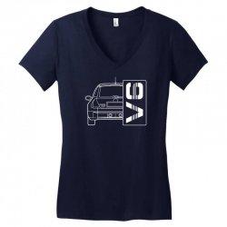 renault clio sport v6 sports car Women's V-Neck T-Shirt | Artistshot