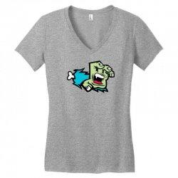 Screaming Paw Women's V-Neck T-Shirt | Artistshot