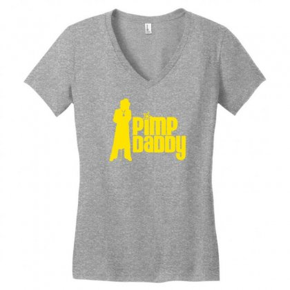 Pimp Daddy Women's V-neck T-shirt Designed By Specstore