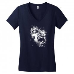 Scream Face Women's V-Neck T-Shirt | Artistshot