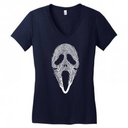 The Scream Tree Women's V-Neck T-Shirt | Artistshot