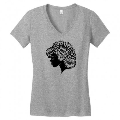 Bonnaroo Women's V-neck T-shirt Designed By Specstore