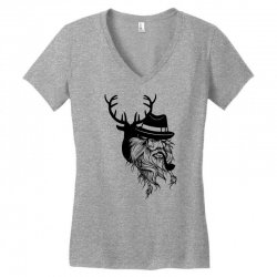 Wise Wild Women's V-Neck T-Shirt | Artistshot