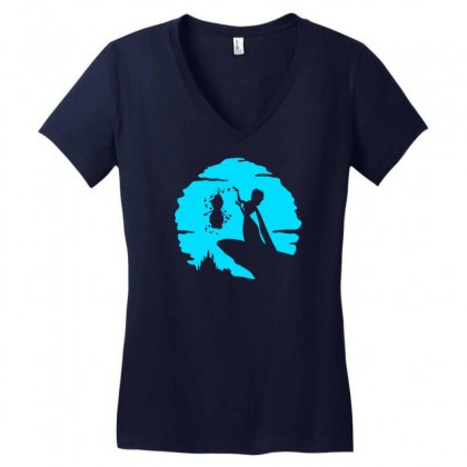 The Freezing Women's V-neck T-shirt Designed By Specstore