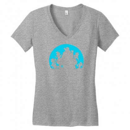 Smurf For Your Life Women's V-neck T-shirt Designed By Specstore