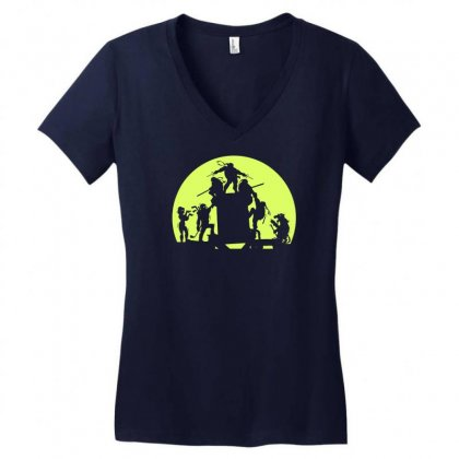 Run For It Mikey Women's V-neck T-shirt Designed By Specstore