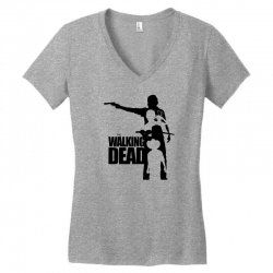the walking dead Women's V-Neck T-Shirt | Artistshot